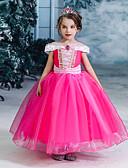 זול שמלות לבנות-שמלה שרוולים קצרים אחיד בנות ילדים