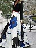 povoljno Print Dresses-Žene Elegantno Swing kroj Haljina Cvjetni print Maxi