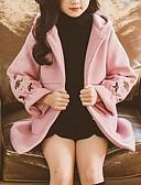 povoljno Džemperi i kardigani za djevojčice-Djeca Djevojčice Osnovni Jednobojni Jakna i kaput Blushing Pink
