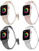 זול להקות Smartwatch-להקת שעונים לסדרת שעונים לתפוחים 4/3/2/1 עיצוב תכשיטים תפוחים רצועת שורש כף יד נירוסטה