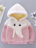 povoljno Majice s kapuljačama i trenirke za bebe-Dijete Djevojčice Osnovni Color block Dugih rukava Trenirka s kapuljačom Blushing Pink