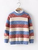 povoljno Džemperi i kardigani za dječake-Djeca Dječaci Osnovni Print Dugih rukava Džemper i kardigan Bijela
