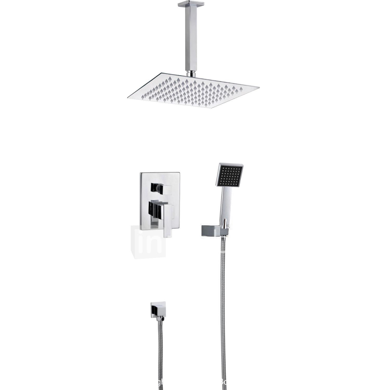 Deca Modern Designer Bath Shower Mixer Tap With Hose and Hand Shower