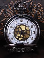 levne Kapesní hodinky-Pánské Kapesní hodinky Křemenný Černá Analogové  Květina Nové 5e6b5d05e0