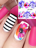 Cheap nail stickers online nail stickers for 2018 cheap nail stickers 1 flower nail sticker multi color nail art design decoration prinsesfo Choice Image