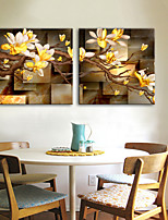 Cheap Wall Art Canvas Print Modern, Two Panels Canvas Square Print Wall  Decor Home