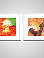 Cheap Wall Art Stretched Canvas Prints Comtemporary, Two Panels Canvas  Square Print Wall Decor