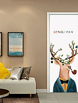 Cheap Wall Stickers Decorative Wall Stickers Door Stickers   3D Wall  Stickers Animals 3D Living