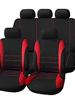 Cheap Car Seat Covers Red Green Blue Fabric