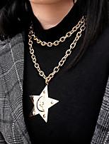 0fef50e458 cheap Necklaces-Women's Pendant Necklace Necklace Layered Necklace  Romantic Elegant Gold
