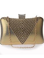 4f49dab0f6 Χαμηλού Κόστους Τσαντάκια  amp  Βραδινές Τσάντες-Γυναικεία Τσάντες  Πολυεστέρας Βραδινή τσάντα Συμπαγές Χρώμα Ασημί