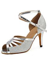 b558eca984 abordables Zapatos de Baile-Mujer PU Zapatos de Baile Latino Corte Tacones  Alto Slim High