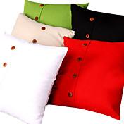 ropa de color sólido fundas de colchón (cierre de la parte inferior)
