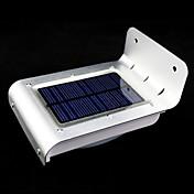 屋外の太陽光発電16主導モーションセンサー検出セキュリティガーデンライトランプ