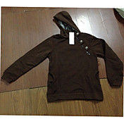 Hombres vska metal Lock Fleece Espesar con capucha Sweater