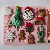 1 環境に優しい クッキー / チョコレート / ケーキ シリコーン ベーキングモールド