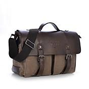 男性 バッグ オールシーズン キャンバス 小型かばん のために カジュアル コーヒー Brown グリーン