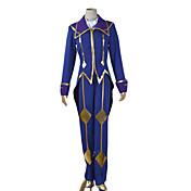 に触発さ コードGease シー・ツー アニメ系 コスプレ衣装 コスプレスーツ パッチワーク ベスト 上着 パンツ グローブ クローク スカーフ 用途 男性用