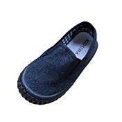 Chica Zapatos Tela Primavera Confort Zapatos de taco bajo y Slip-On para Rojo / Azul / Verde