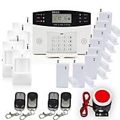 433MHz Teclado Inalámbrico SMS Móvil 433MHz GSM Alarma de sonido Alarma telefónica Alarma SMS Alarma Local Sistemas de alarma para el