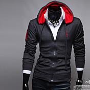 sudadera con capucha del bordado de Fengge hombres abrigo informal