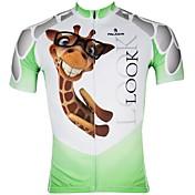 ILPALADINO Maillot de Ciclismo Hombre Manga Corta Bicicleta Camiseta/Maillot Top Secado rápido Resistente a los UV Cremallera delantera