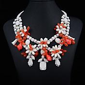 collar de diamante de la CZ de metal de joyería jq de las mujeres