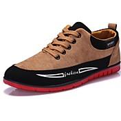 Hombre Confort Vulcanizado Zapatos Semicuero Primavera Verano Otoño Invierno Casual Confort Vulcanizado Zapatos Con Cordón Tacón Plano
