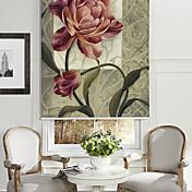 estilo de la pintura al óleo creciente persiana floral