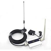 pantalla LCD mini DCS antena lechón señal de la señal del teléfono móvil 1800mhz refuerzo repetidor con 10 m de cable 4g 2g 3g