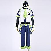 Inspirado por Dramatical Murder Noiz Animé Disfraces de cosplay Trajes Cosplay Retazos Camisas Pantalones Mangas Accesorios de Cintura