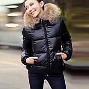 w.s.e fshion abrigo cálido algodón ocasional de las mujeres