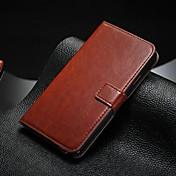 Za Samsung Galaxy Note Utor za kartice / sa stalkom / Zaokret Θήκη Kompletna maska Θήκη Jedna boja Umjetna koža SamsungNote 5 / Note 4 /