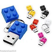 新しいおもちゃのレンガ漫画USB 2.0フラッシュメモリペンドライブ高2ギガバイト