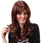 Mujer Pelucas sintéticas Rizado Con flequillo Pelucas para Disfraz