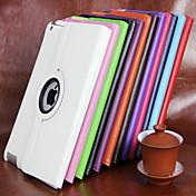 Funda Para Apple / iPad Air / iPad Air 2 con Soporte / Rotación 360º Funda de Cuerpo Entero Un Color Dura Cuero de PU para iPad Air / iPad 4/3/2 / iPad Mini 3/2/1 / iPad Pro 10.5