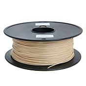 1.75mm geeetech filamento madera 1kg para las impresoras 3D