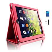 ケース 用途 iPadの4/3/2 iPad Air 2 iPad Air スタンド付き オートオン/オフ フルボディーケース 純色 PUレザー のために iPad 4/3/2 iPad Air iPad Air 2 iPad Pro 10.5 (2017) iPad