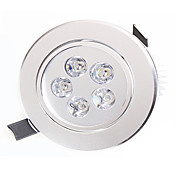 導かれたダウンライト5ハイパワーは450-550lm暖かい白自然な白い装飾的なAC 85-265vを導いた