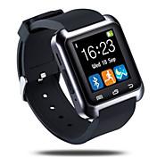 Bluetooth3.0 reloj inteligente podómetro sueño monitorear mensaje de llamada de sincronización para el teléfono androide