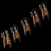 NT2の10個入りのファッションの女性の黄金と銀はアクリル系UVジェルのヒントフレンチネイルアートの装飾のための爪のツールを形成します