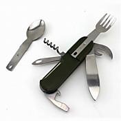 Abrebotellas / Cuchillos / Multiherramientas Camping / Viaje / Al Aire Libre Multi Function / Conveniente ABS / Acero inoxidable