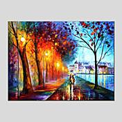 手描きの 風景 横式, 近代の 欧風 キャンバス ハング塗装油絵 ホームデコレーション 1枚