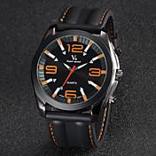 V6 Hombre Reloj de Pulsera Silicona Banda Negro / Dos año / Mitsubishi LR626