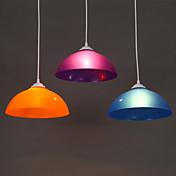 cuenco Lámparas Colgantes Luz Downlight - LED Blanco, Bombilla no incluida / 10-15㎡