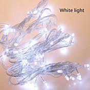 luces de colores LED String emisor de luz f5 diodo 100LED impermeable / ip65 ac180-240v luz roja 10m / lot