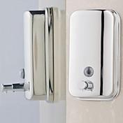 Dispensador de Jabón Moderno ABS de Grado A Acero inoxidable 1 pieza - Baño del hotel