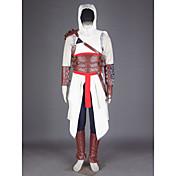 Inspirado por Asesino Altair Vídeo Juego Disfraces de cosplay Trajes Cosplay Retazos Pantalones Guantes Cinturón Maleta Capa cubierta del