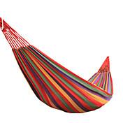 Hamaca para camping / Catres y Hamacas Al aire libre Utra ligero (UL), Transpirabilidad Lona para Senderismo / Playa / Camping - 1 Persona