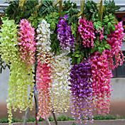 3つの枝藤の人工花の家の装飾の結婚式の供給